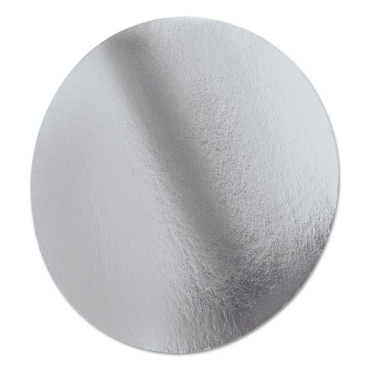 """8"""" Round Heavy Foil Lid - Case of 500"""