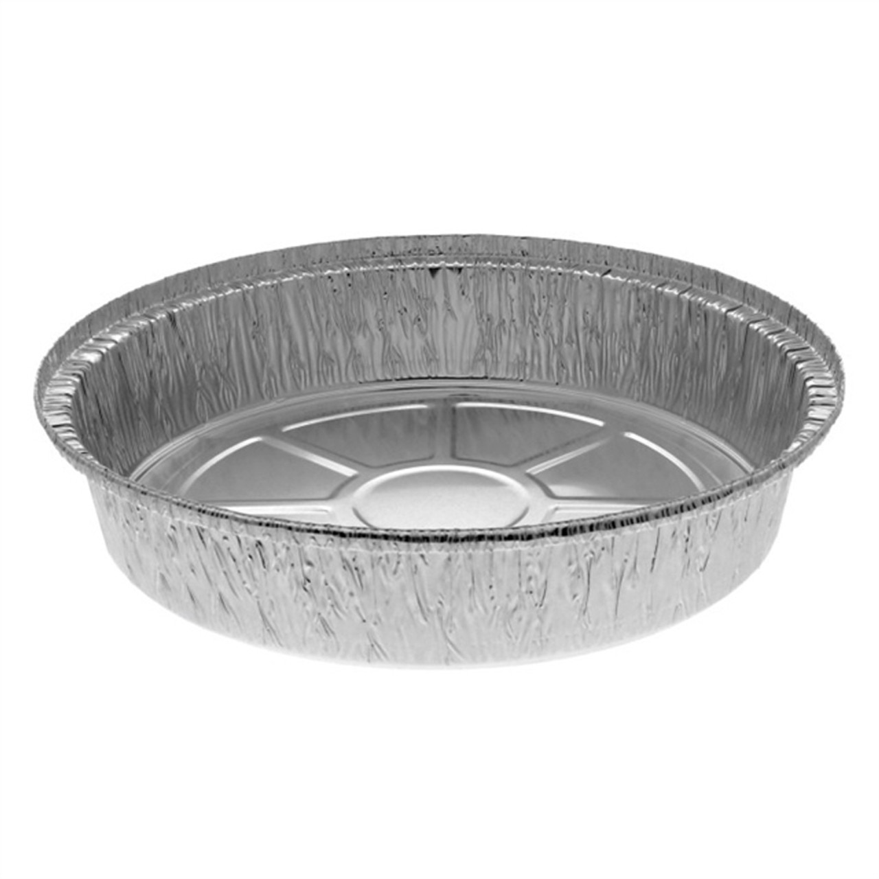 """9"""" Round Foil Takeout Container"""