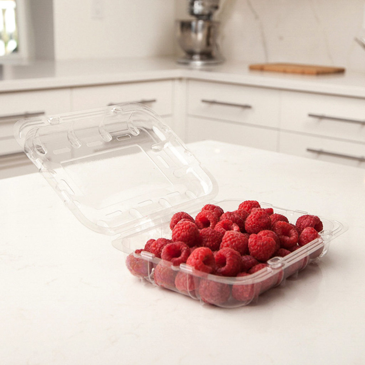 Clear Vented Berry / Veggie Container - 12oz