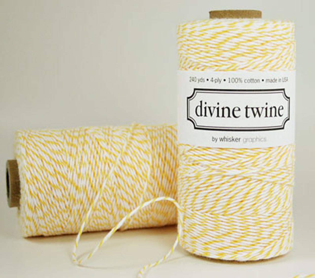 Yellow Divine Twine