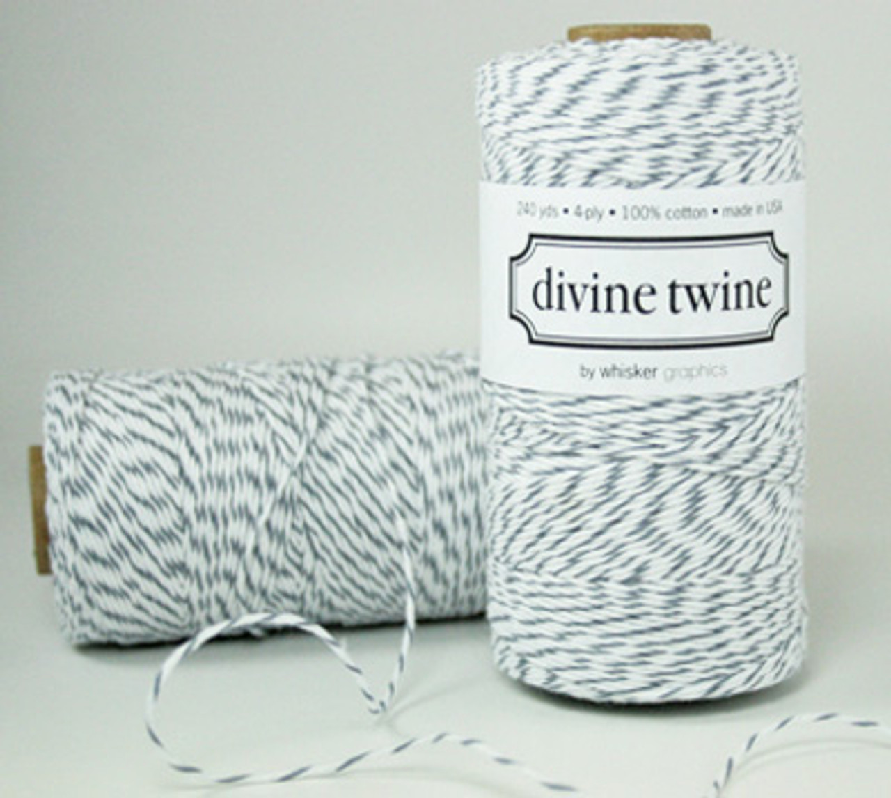 Gray Divine Twine