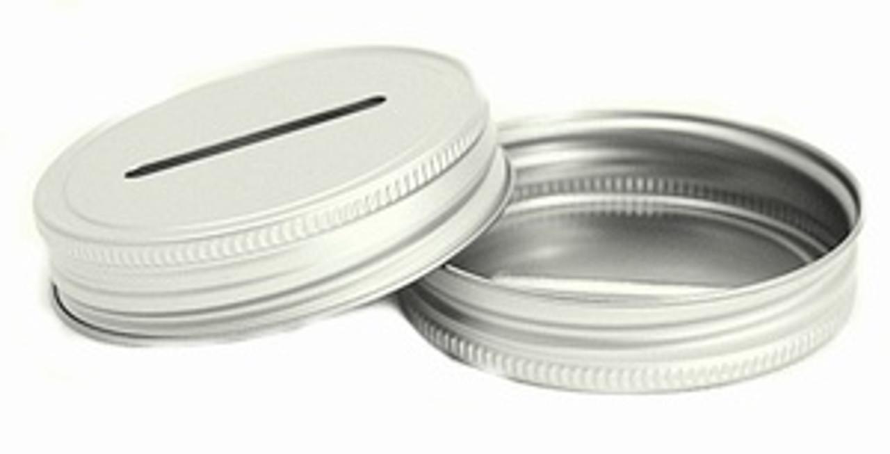 Coin Slot Mason Jar Lid
