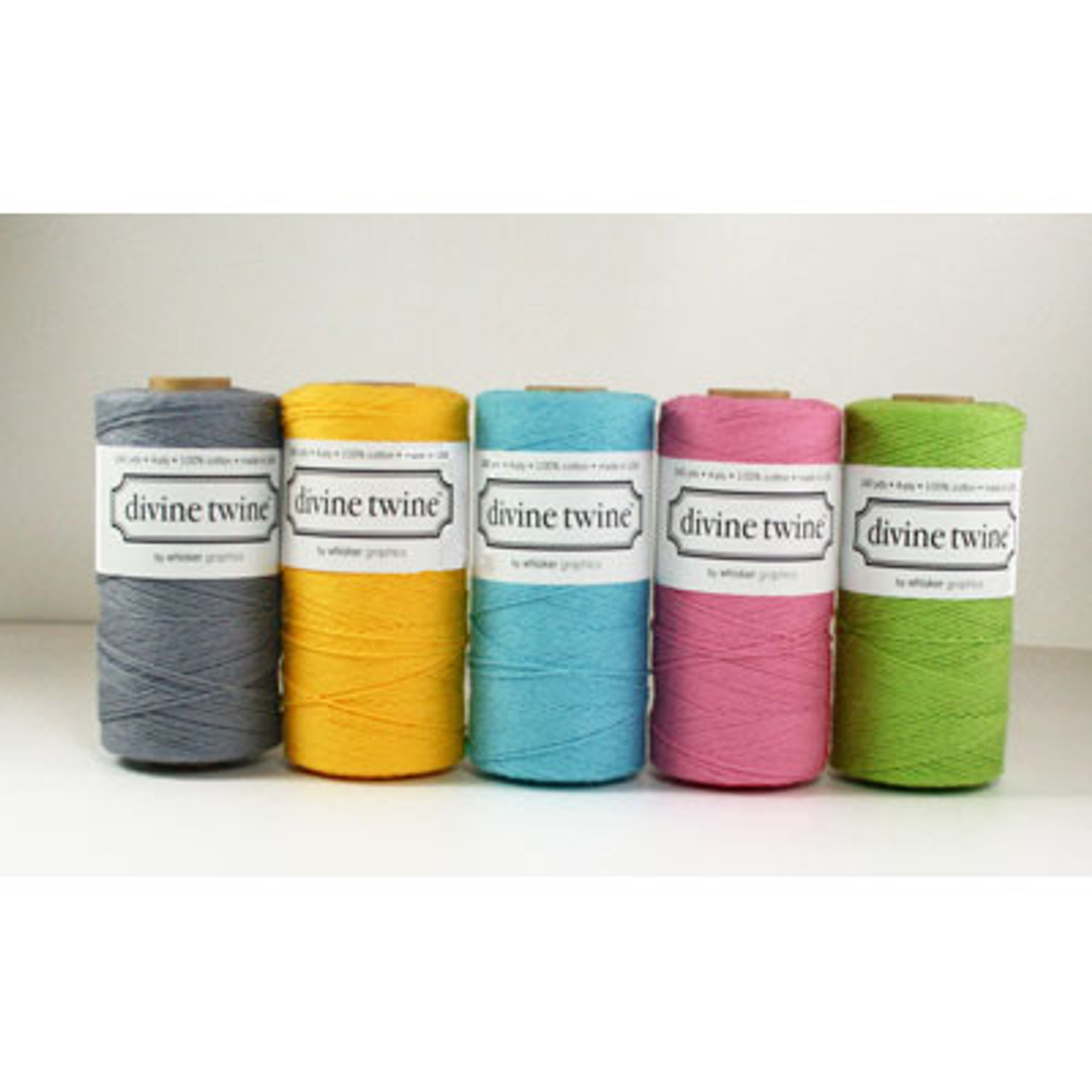 Gray Solid Divine Twine