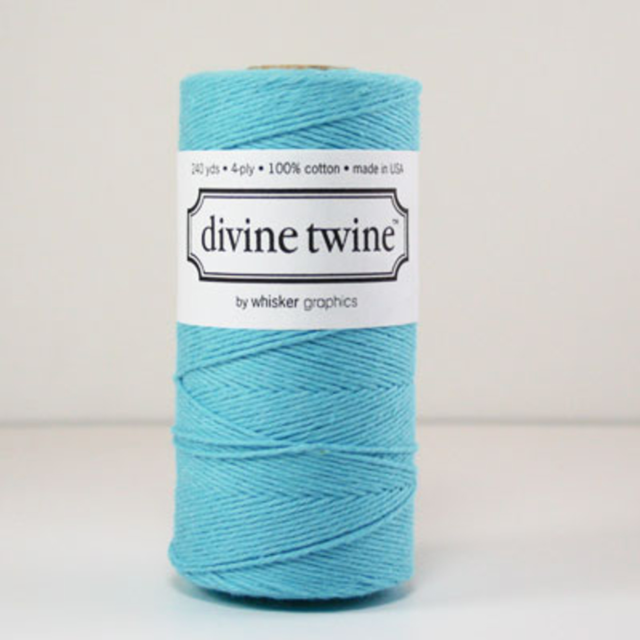 Blue Solid Divine Twine