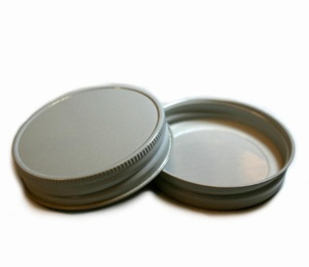 Plastisol Mason Jar Lid - White