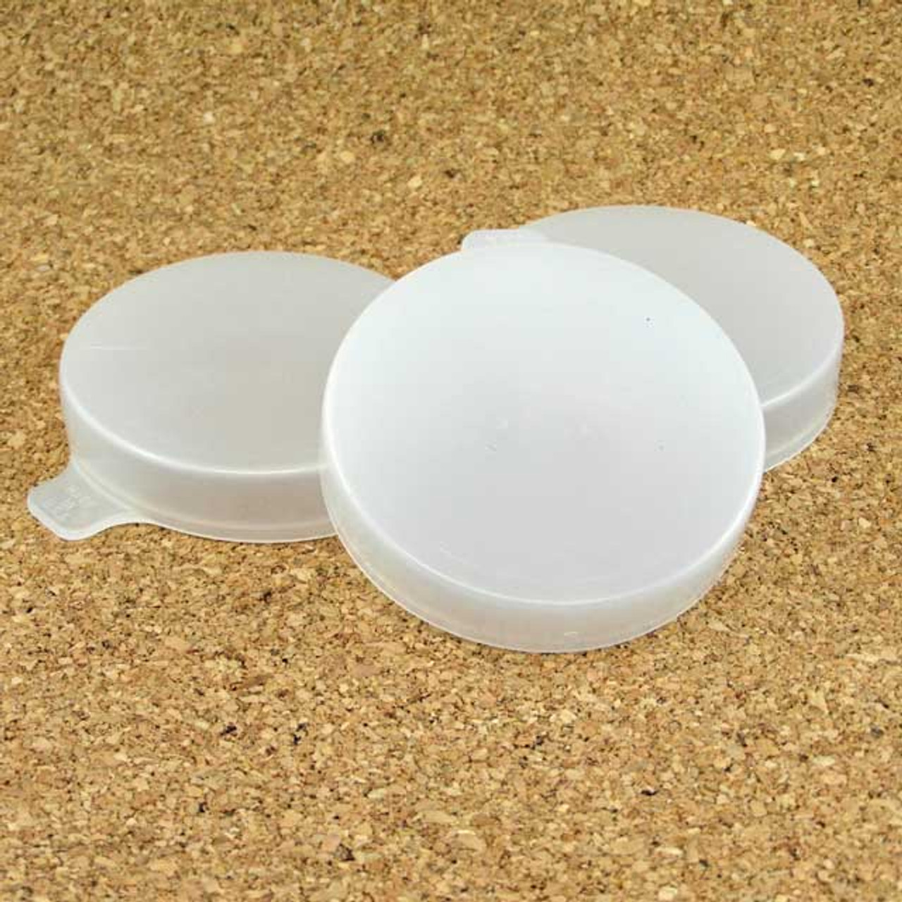 Half Pint Milk Bottle Lid - 55mm - Clear