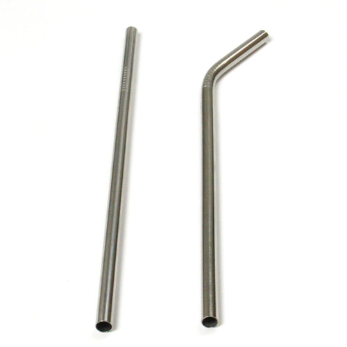 Jumbo Stainless Steel Straw