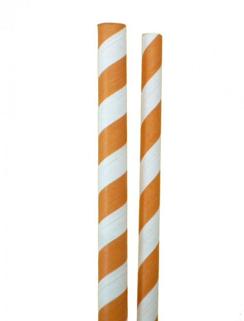 Jumbo and Standard Size Paper Straws