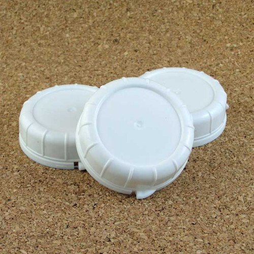 Quart Milk Bottle Lid - 48mm - White