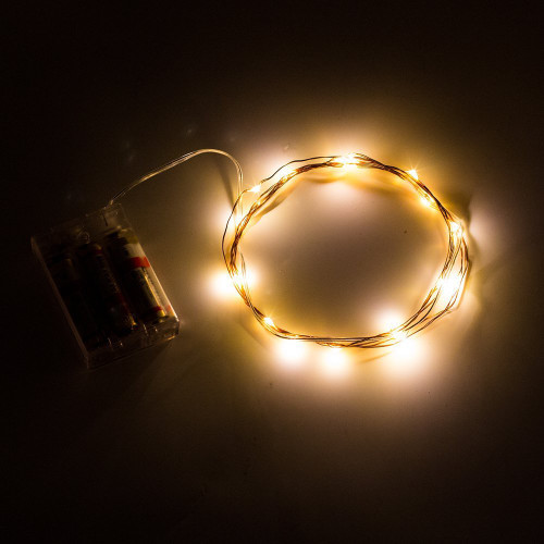 50 LED Fairy Lights with AA Battery Pack