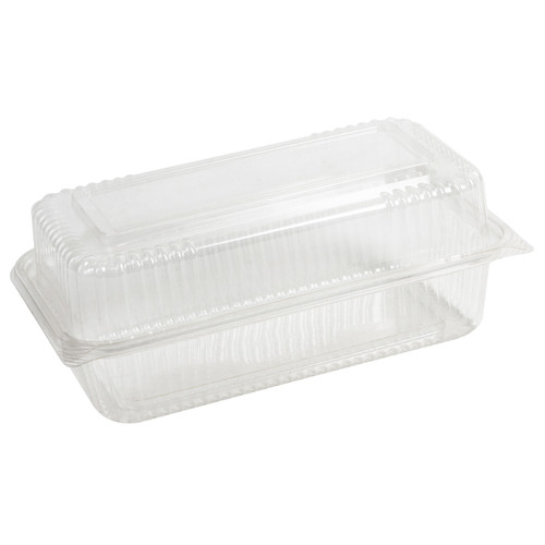 "Hinged Clear Clamshell - 9"" x 5"" x 3"""