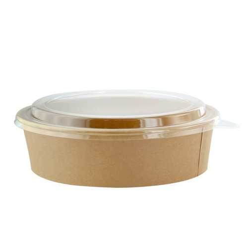 Kraft Paper Salad Bowl (without lid) - 26 oz