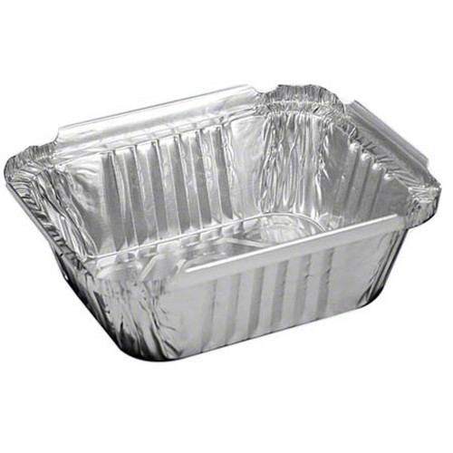 1lb aluminum foil pan with paper lid