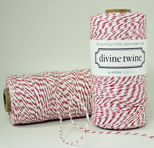 Red Divine Twine