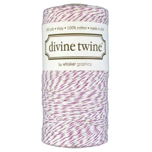 Two 100/% Cotton FULL SPOOLS Bakers Twine Two Colors 480 Yards Total Silver and Gold Shimmer Pack Divine Twine