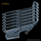 AR-15 80% Lower, Forged, 6 Pack - Raw