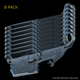 AR-15 80% Lower, Forged, 8 Pack - Raw