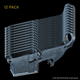 AR-15 80% Lower, Forged, 12 Pack - Raw