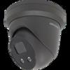 Hikvision DS-2CD2386G2-ISU/SL Grey 2.8mm AcuSense 8MP IP Turret Dome Camera 2.8mm Lens Built In Mic/Speaker