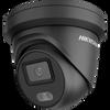 Hikvision ColorVu DS-2CD2347G2-LU-2.8mm Black 4MP Hikvision AcuSense 2.8mm fixed lens Colour Turret Camera with audio