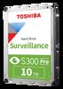 Toshiba S300 Pro 10TB Surveillance Hard Drive HDWT31AUZSVA