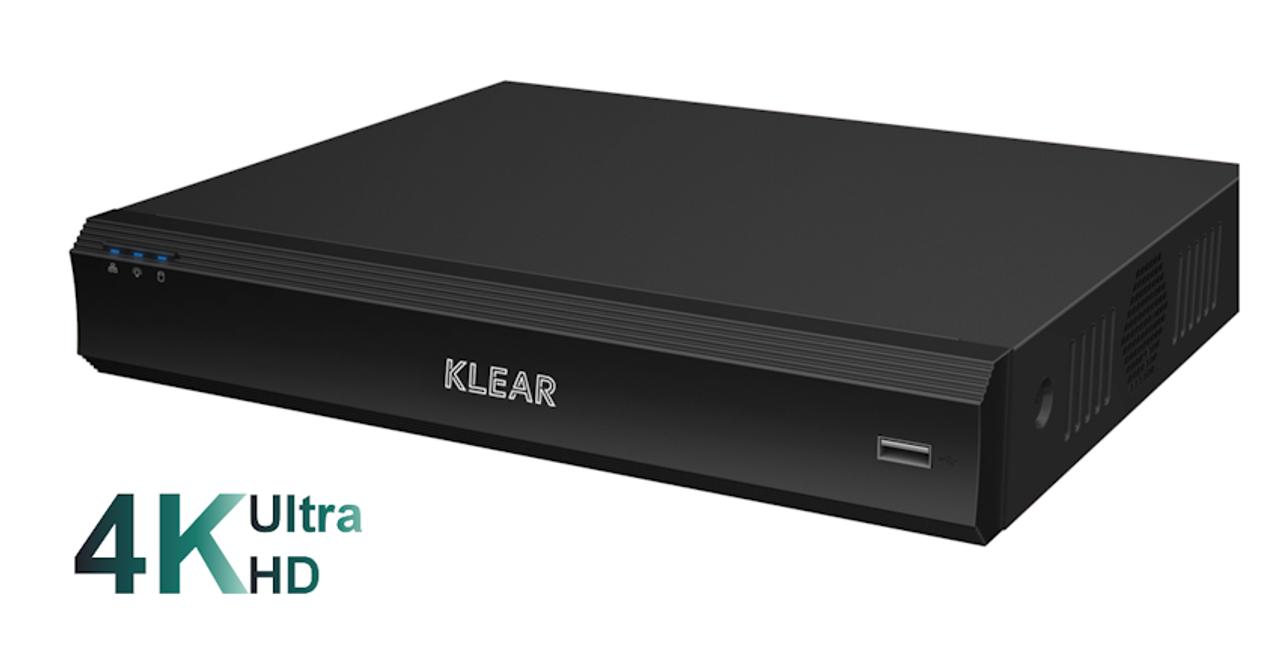 Klear 4CH Ultra HD DVR K-804 D