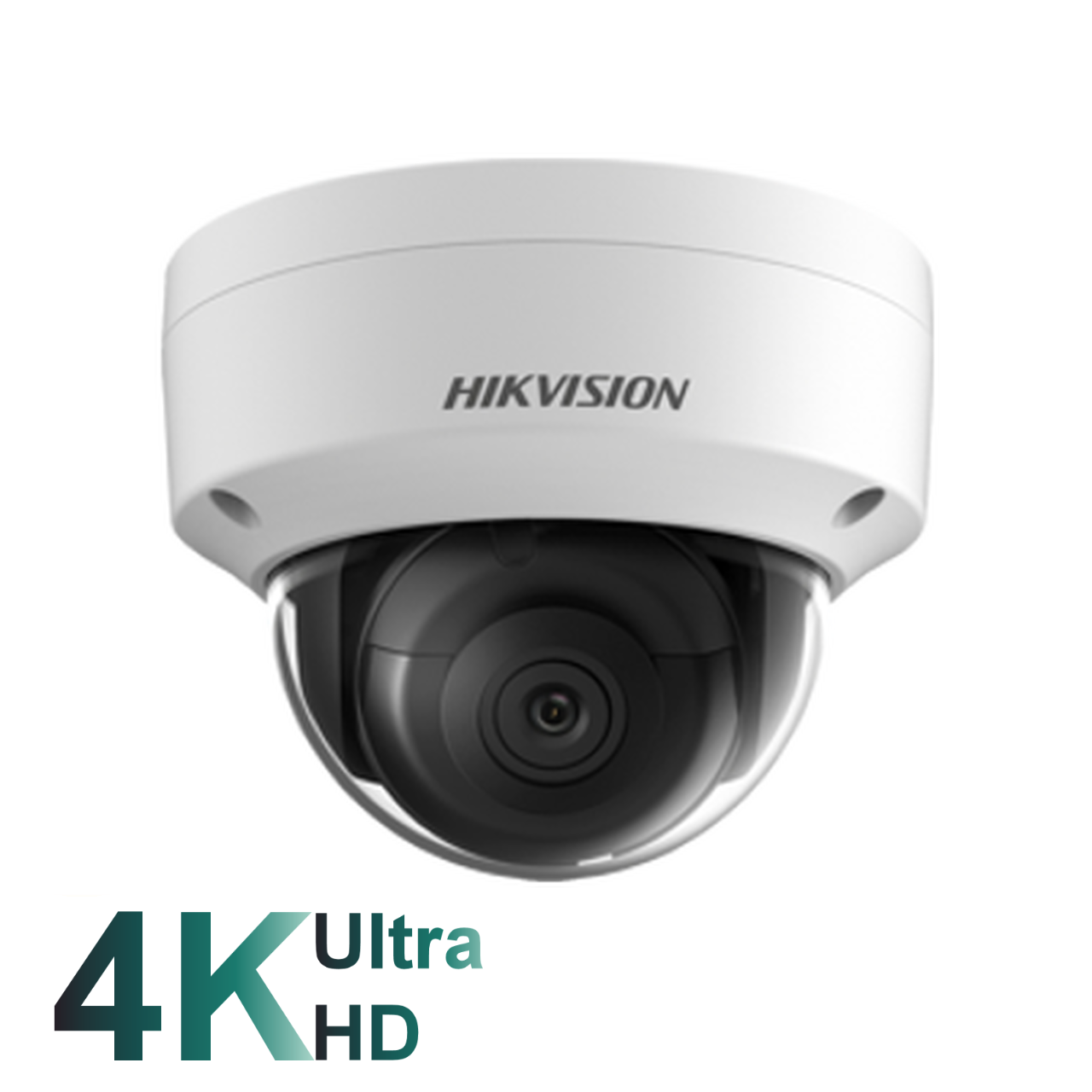 Hikvision DS-2CD2185FWD-I White 8MP fixed 2.8mm lens internal dome camera with IR