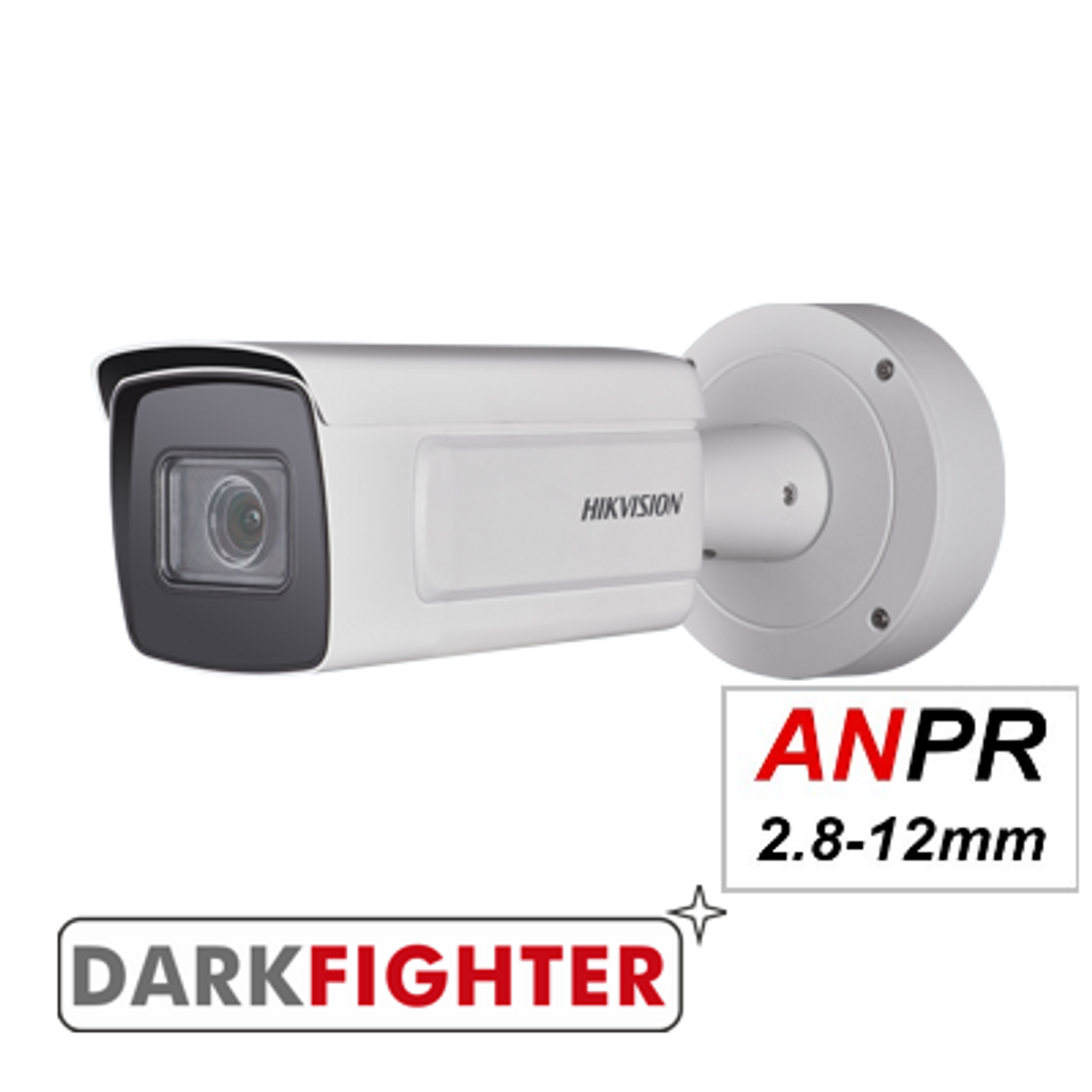 Hikvision DS-2CD7A26G0/P-IZS (2.8 - 12mm Lens) Up To 15m Capture Distance 2MP ANPR Licence Plate Recognition camera