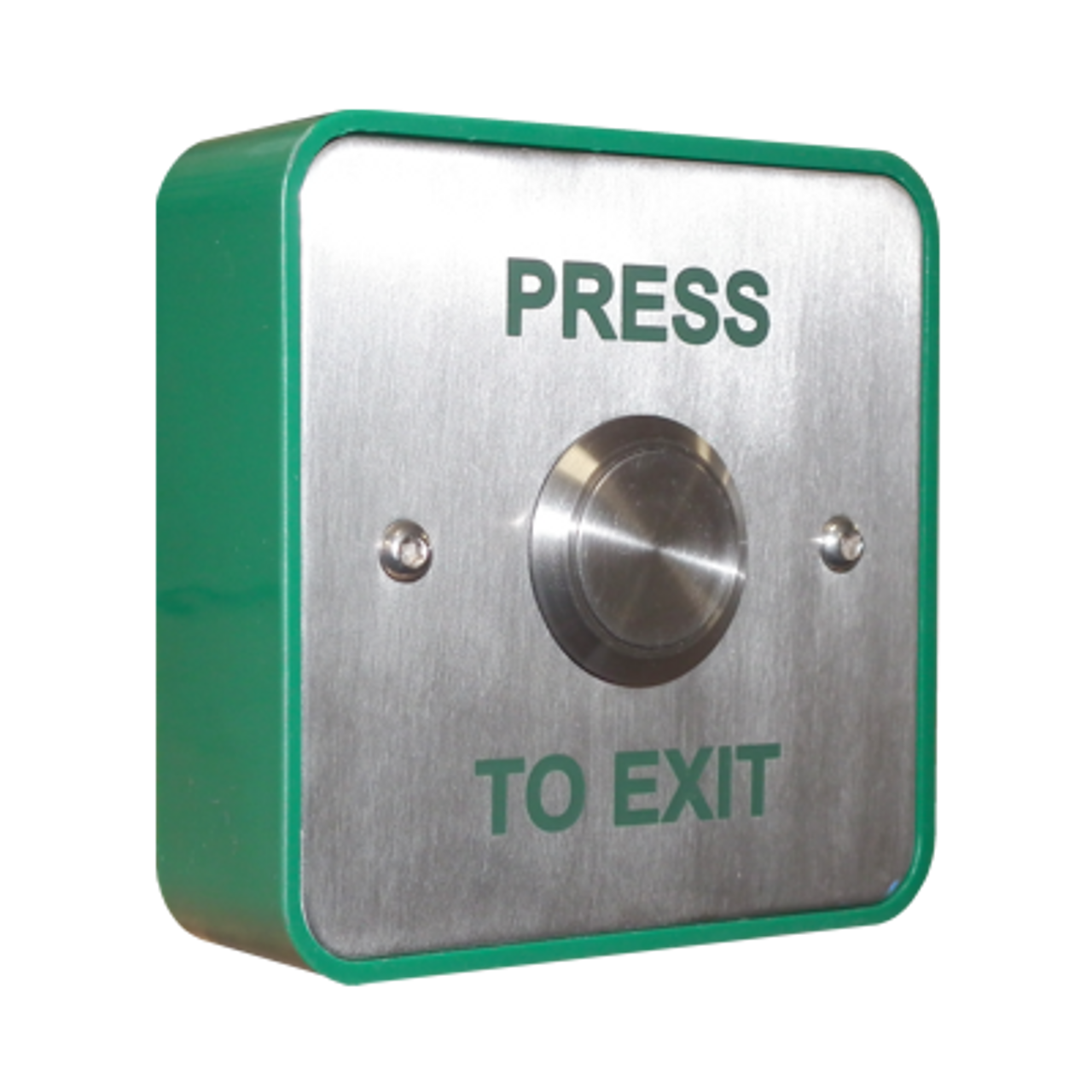 EBSS02/PTE Standard stainless steel with stainless steel push to exit button