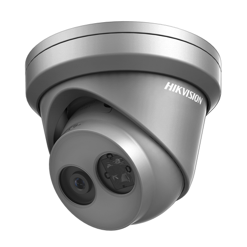 Hikvision DS-2CD2345FWD-I-2.8mm Grey 4MP  Ultra Low Light 2.8mm Fixed Lens  IP Network IR Dome Camera IP67 Rated