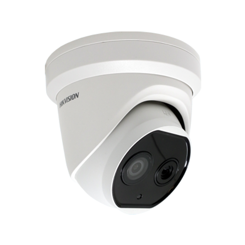 Hikvision DS-2TD1217B-6/PA 6.2mm fixed lens thermographic turret body temperature measurement camera