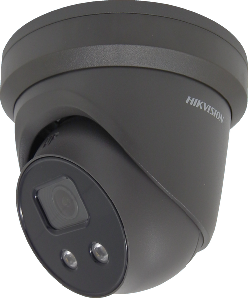 Hikvision AcuSense DS-2CD2366G2-IU Grey (C) 6MP 2.8mm Lens Powered By Darkfighter with built in mic