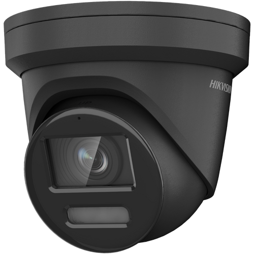 Hikvision DS-2CD2387G2-LU 2.8mm Lens Black 8MP Colorvu AcuSense 2.8mm fixed lens Colour Turret Camera with audio