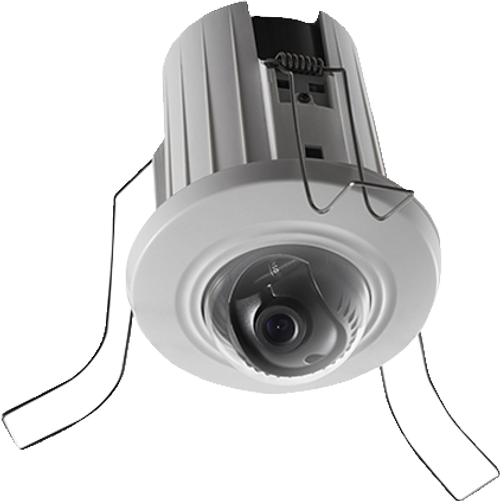 Hikvision DS-2CD2E43G2-U 2.8mm Fixed Lens AcuSense 4MP in-ceiling Mini Dome Camera With Built in Microphone