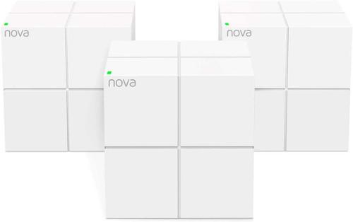 Tenda Nova MW6-3 Whole Home Mesh Wi-Fi System, 6000sq² Wi-Fi Coverage