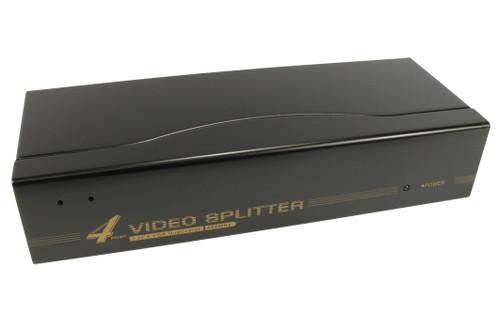 VGA 4 Port Splitter, 1 VGA Input - 4 VGA Outputs NLKVS-534A