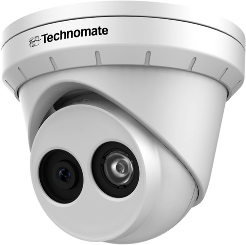 Technomate TM-803 E IP 8MP 2.8mm Fixed Lens IP Network IR Dome Camera IP67 Rated