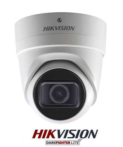 Hikvision DS-2CD2H45FWD-IZS 4MP Ultra Low Light 2.8mm-12mm Motorized Lens IP Network IR Dome Camera IP67 Rated