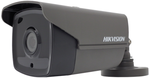 Hikvision DS-2CE16H0T-IT3E/GREY Turbo HD 5MP PoC EXIR Bullet Camera 3.6mm Lens