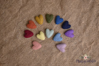 Rainbow heart set