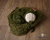 4 Piece Green Knit Soft Set