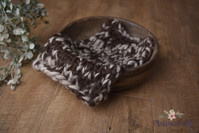 Chunky Knit Pure Wool Bump Layer - Variegated
