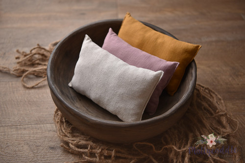 Linen Posing Pillow - Choose Colour