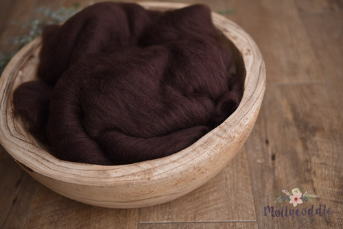 dark golden brown merino cloud