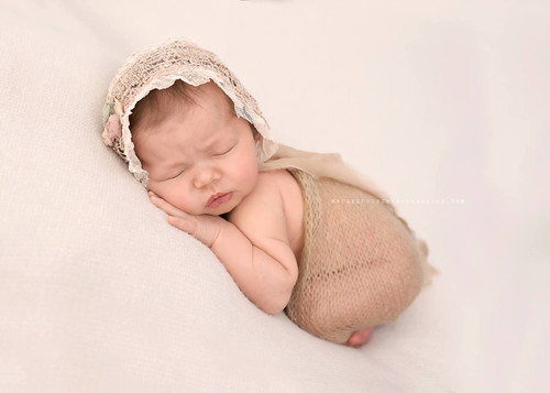 Knitted Faux Mohair Baby Wrap - Choose Colour