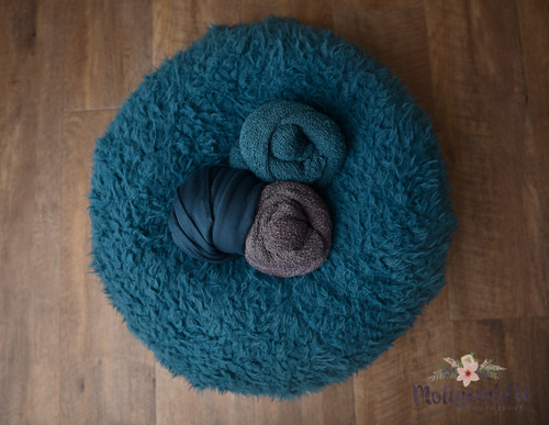 Teal Fur And Wraps Pack