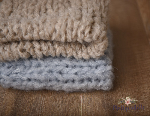 Lux Fluffy Mohair Hand Knitted Layer