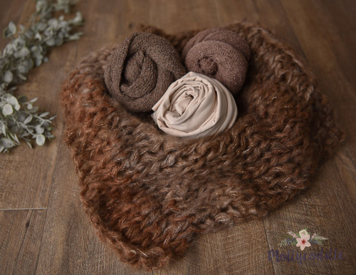 Layer and Wraps Soft Set - Brown Tones