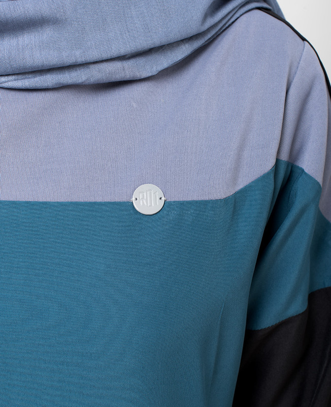 Boat Overlap neck Jilbab