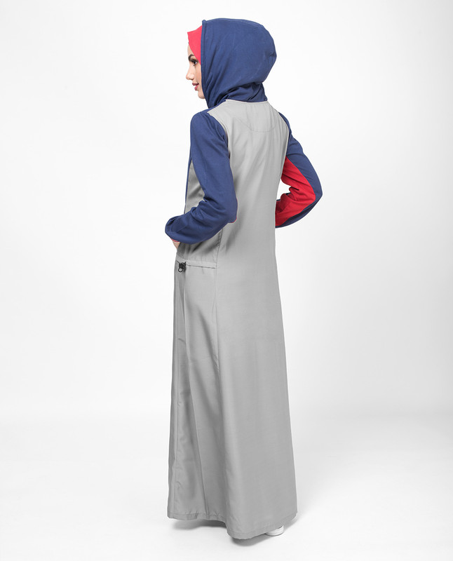 Tri Color Casual Jilbab